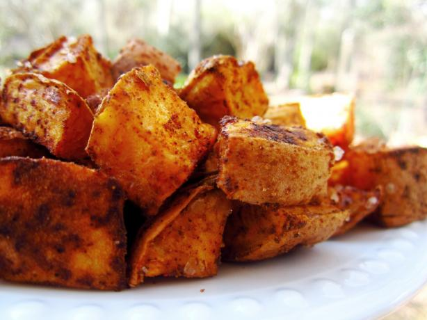 Southwestern Salty Sweet Potatoes to Cry For!