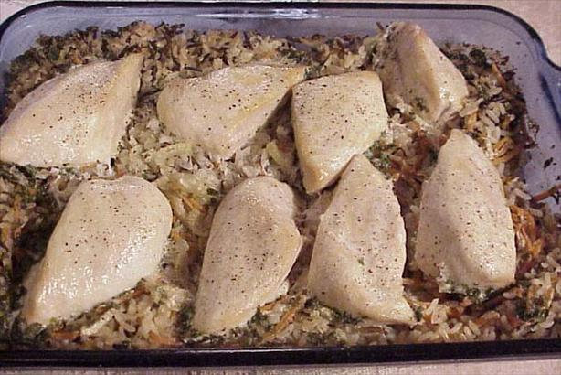 T's Favorite Chicken and Wild Rice