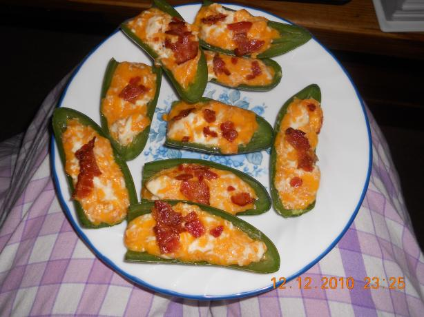 Baked Texas Jalapeño Peppers