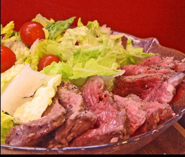 Tenderloin Caesar Salad