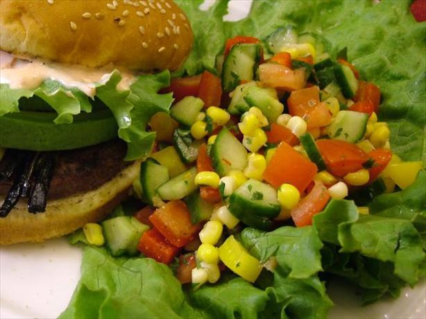 Fiesta Cucumber-Corn Salad