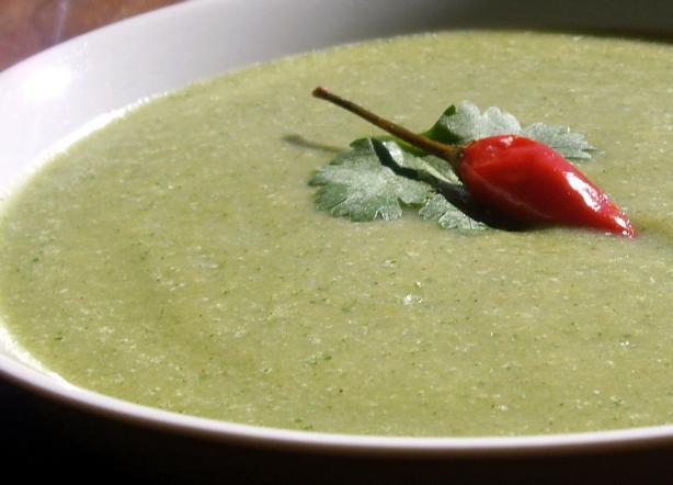Lou's Chayote Soup