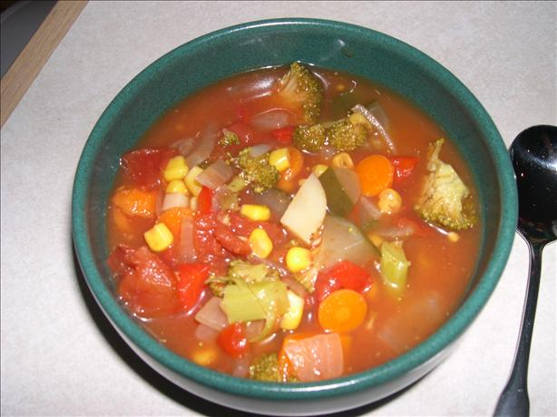 Yummy Vegetable Soup