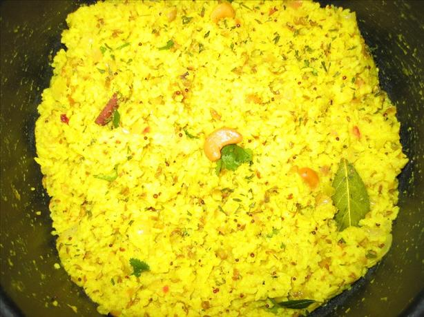 Lemon Rice with Dals