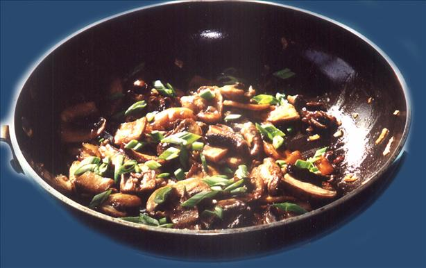 Sauteed Portabella and Cremini Mushrooms