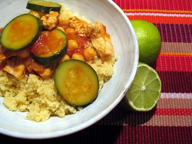 Shelly's Chicken and Zucchini Couscous
