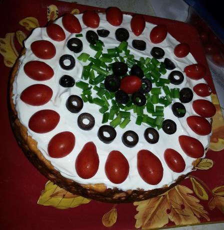 Taco Cheesecake