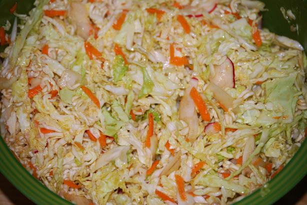 Simply Sensational Ramen Cabbage Salad