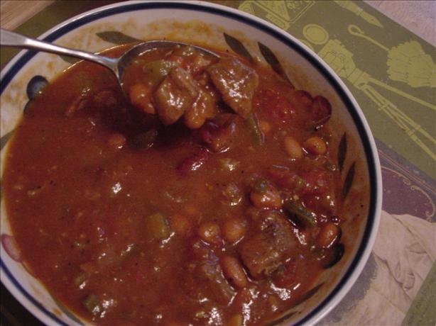 Bill's Crock Pot Chili
