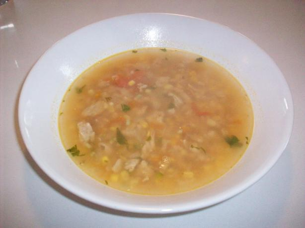 Spicy Hearty Mexican Ground Turkey Soup