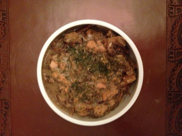 Salmon Bisque