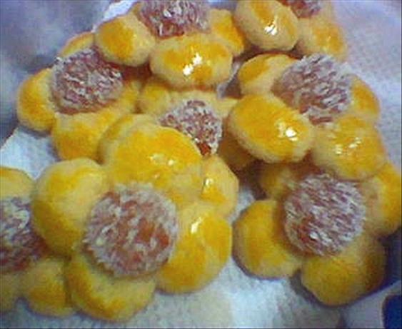 Pina Colada Spritz Cookies