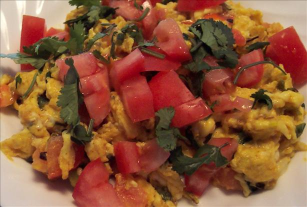 Akoori - Scrambled Eggs (Parsi)