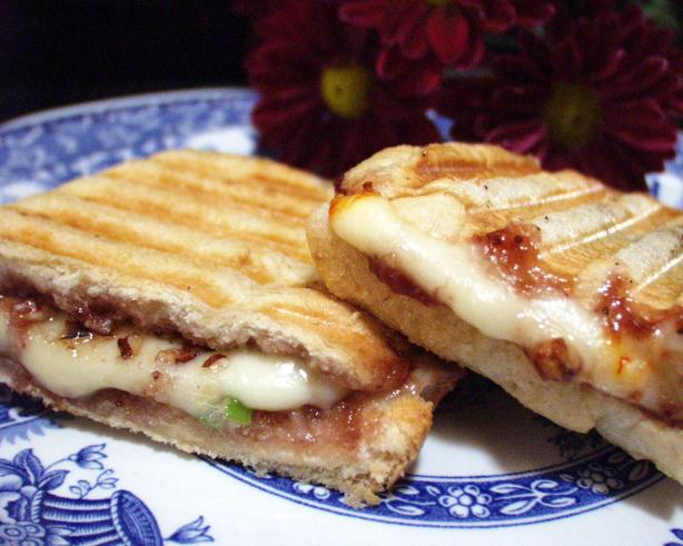 Raspberry Grilled Cheese Sandwiches