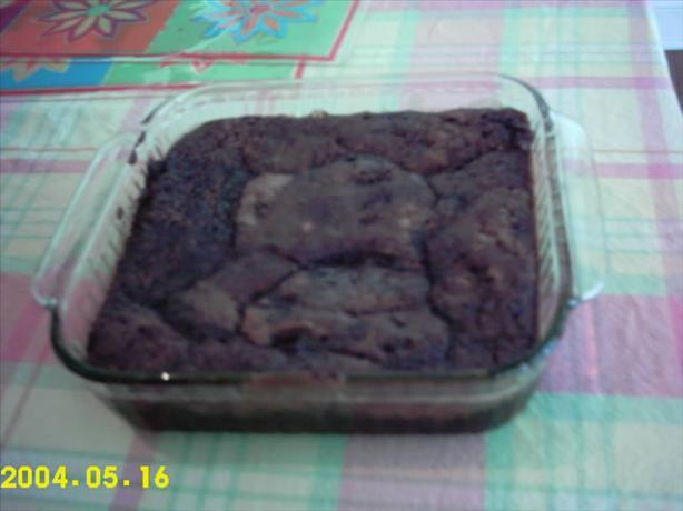 Cinn-ful Fudgy Rum Pudding Cake