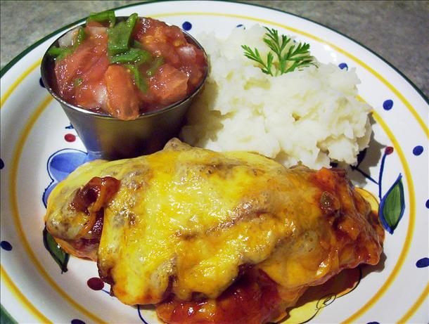 Monterey Jack Chicken, Bursting With Flavor