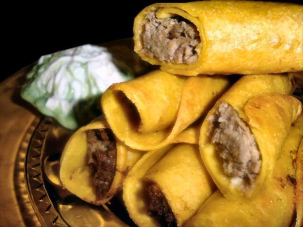 Beef Taquitos (Oamc)