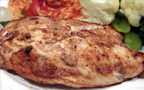 Lemon-Cinnamon Chicken (Grill or BBQ)