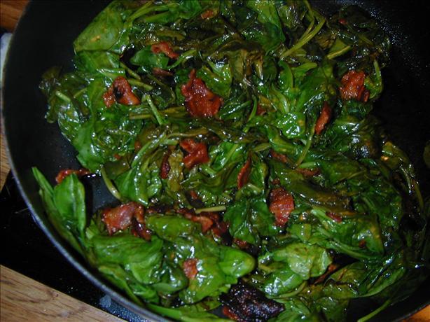 Skillet Spinach