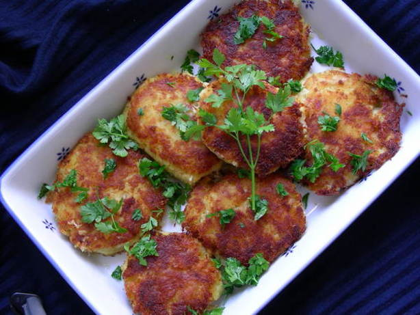 Codfish Cakes using Salt Cod