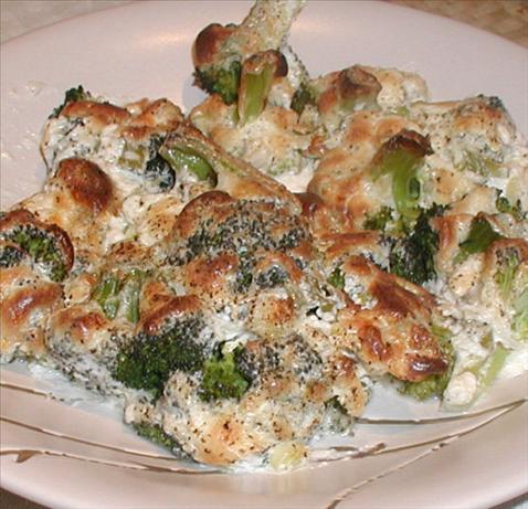 Creamy Parmesan Broccoli