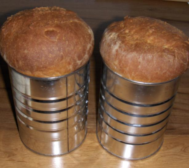 Canned White Yeast Bread That Needs No Kneading