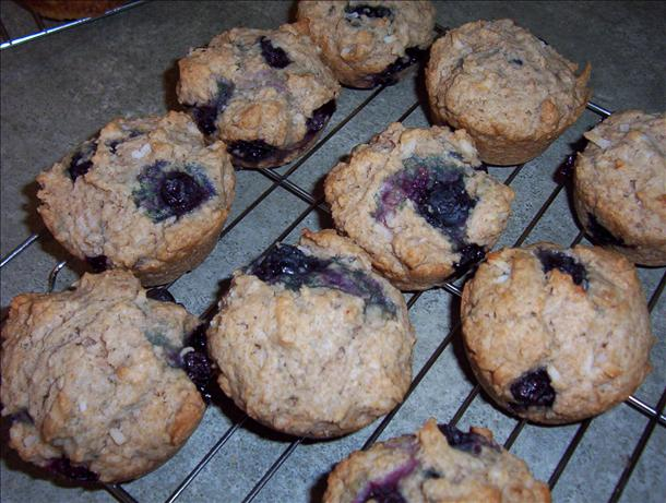 Coconut-Blueberry Muffins