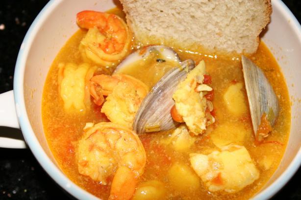 Helen's Bouillabaisse (Seafood Chowder)