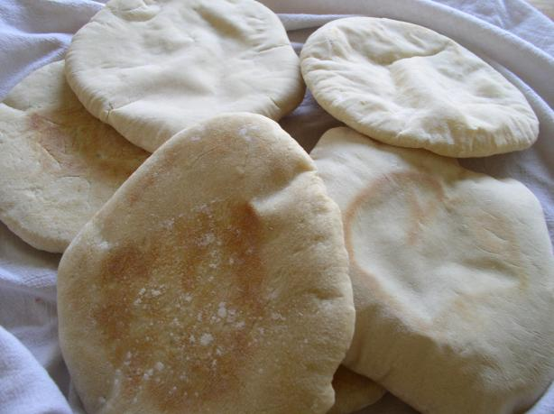 flat bread or khoubiz
