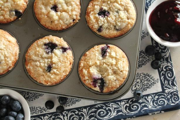 Blue Blueberry Muffins