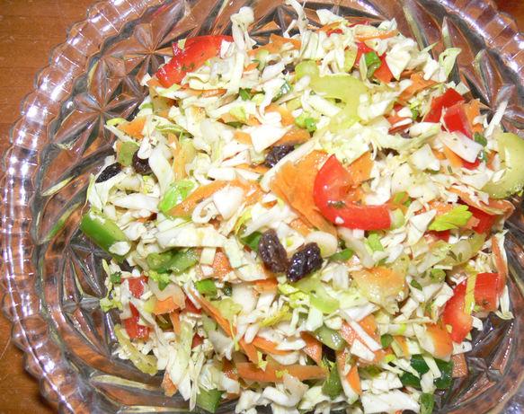 Low-Fat Big Crunch Coleslaw