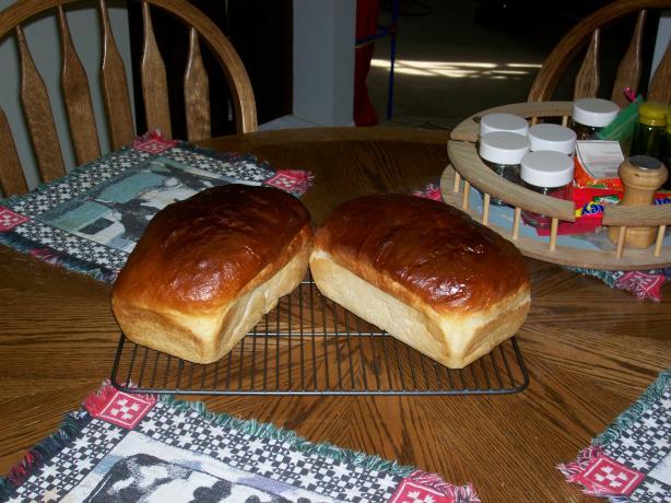Buttermilk Bread for the bread machine