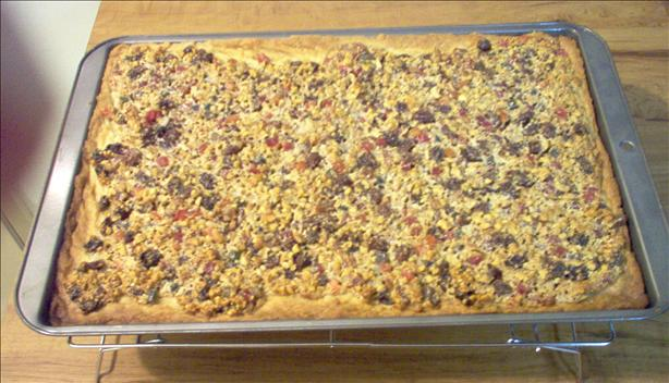 Pecan Fruitcake Squares (Or Any Nut You Prefer)
