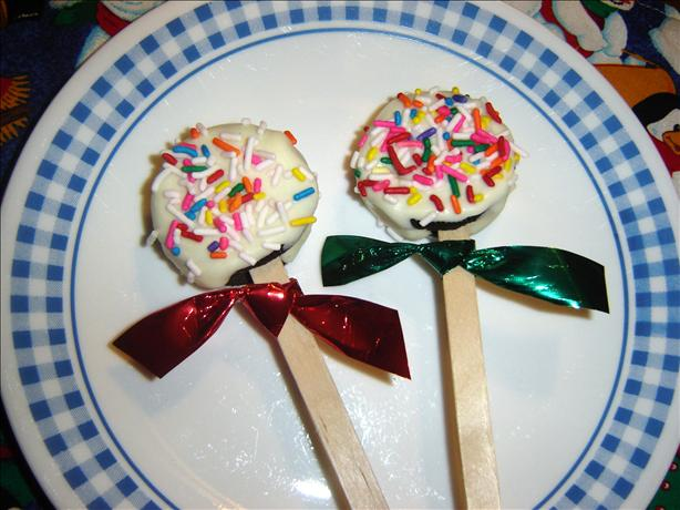 Cookie Lollipops