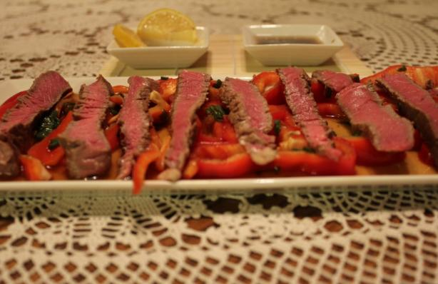 Steak Tataki With Citrus Ponzu