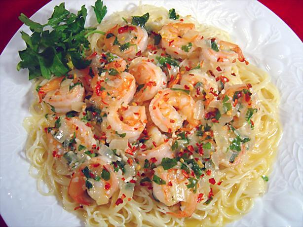Shrimp alla Aglio