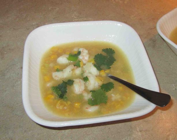 Thai-Style Corn Soup