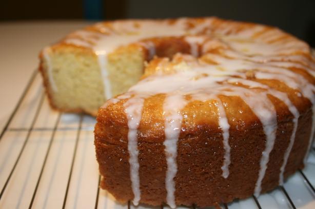 Orange Sponge Tube Cake