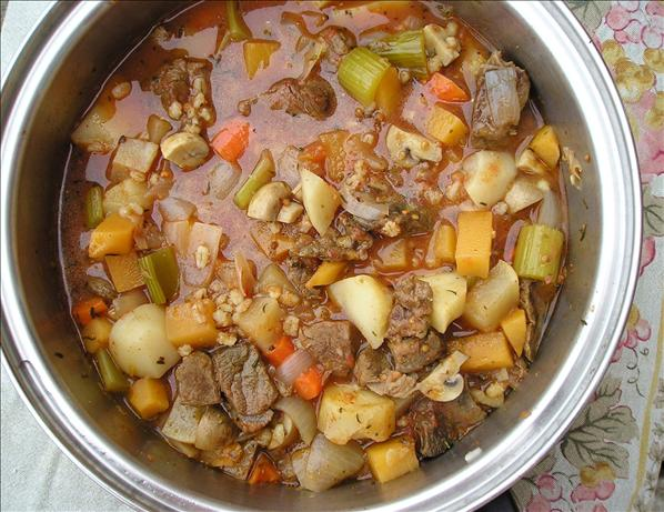 Diabetic Beef Stew