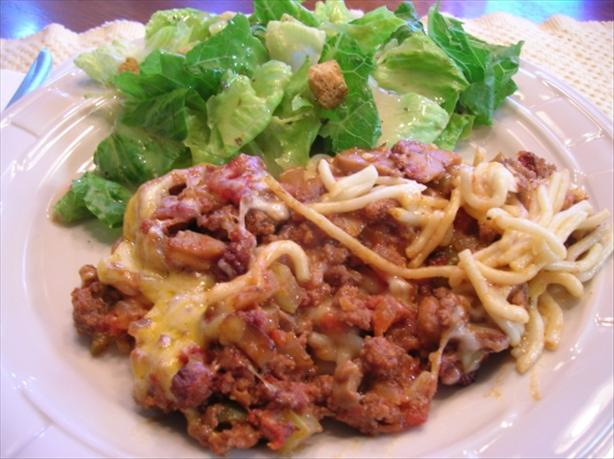 Mrs. Geraldine's Ground Beef Casserole