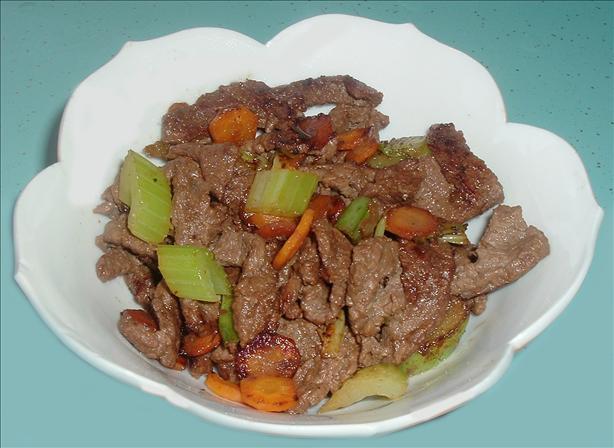 Szechuan Beef or Deer