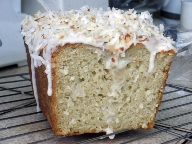Sour Cream Coconut Quick Bread