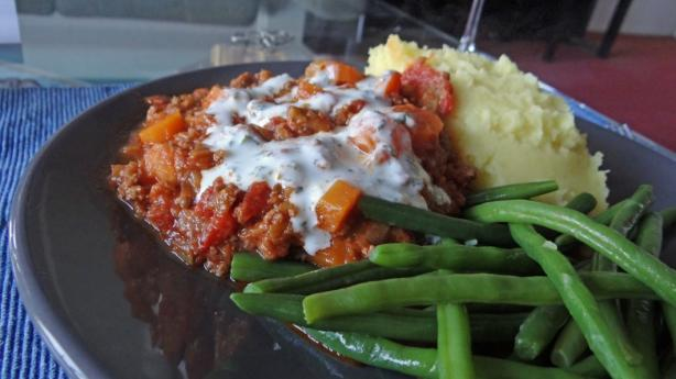 Fragrant and flavorful lamb and leek pasta sauce