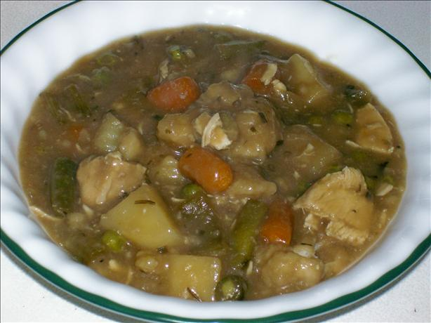 Mom's Incredible Chicken Stew