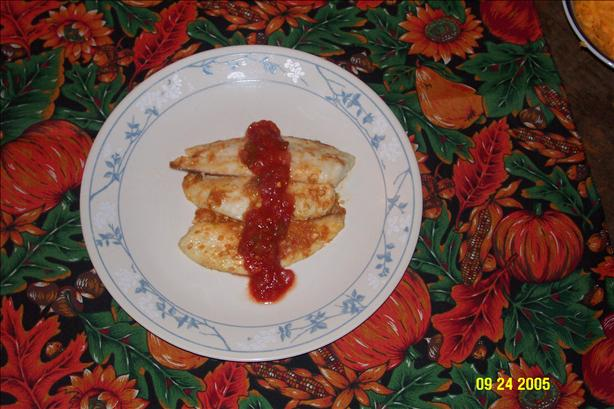 Tilapia with Salsa Butter