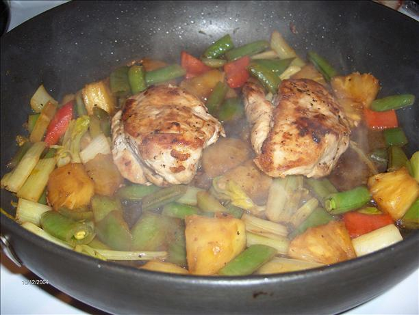 Chicken Breast with Pineapple