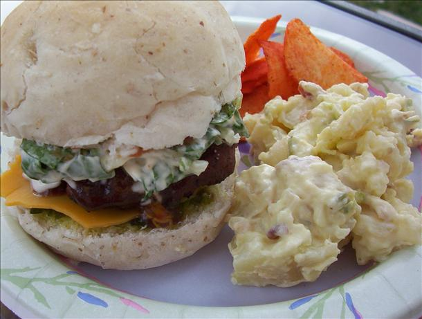 Easy Honey Ranch Burgers