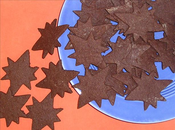 Chocolate Almond Crisps