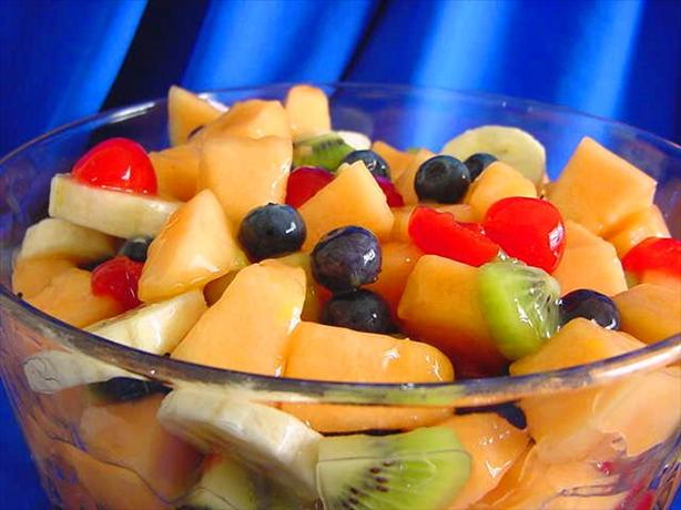 Lemony Fruit Salad