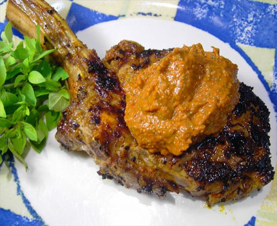 Veal With Tomato Tapenade